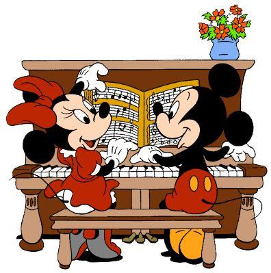 Piano clipart mini Pinterest best 222 Piano Mickey