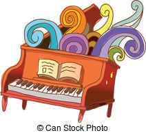 Piano clipart piano lesson Clipart 157 clip Piano Art