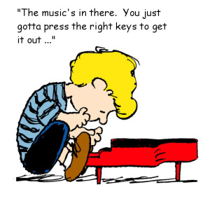 Piano clipart piano lesson Crucial is the A Because