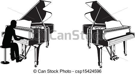 Piano clipart piano lesson Or Illustrations lesson a Piano