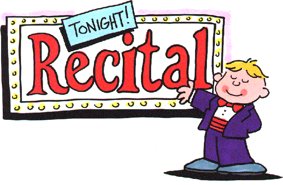 Piano clipart piano recital Recital Concert Cliparts Zone Cliparts