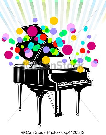 Piano clipart piano recital Concert Stock and 099 Piano