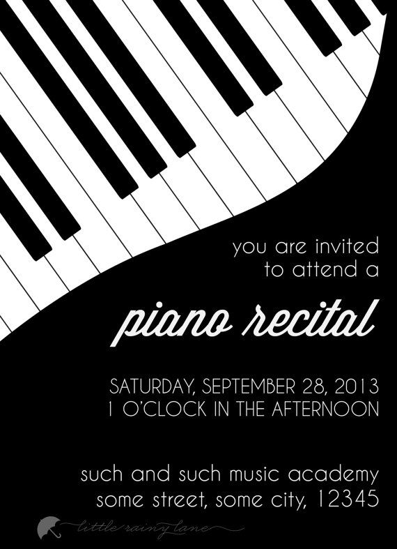Piano clipart piano recital Inspiration Pinterest on  25