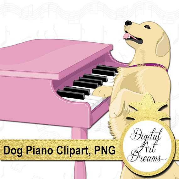 Piano clipart pink Golden Clipart Clip Piano is