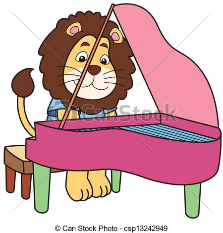 Piano clipart pink Clipart Free Playing Clipart playing%20piano%20clipart