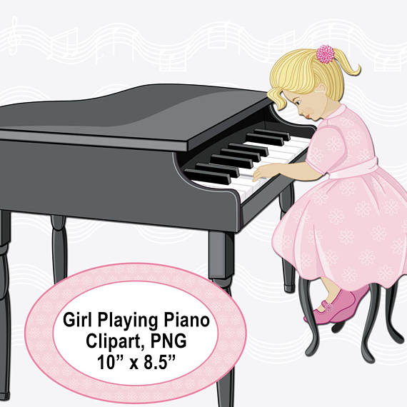 Piano clipart pink Doll Clipart Picture Children is