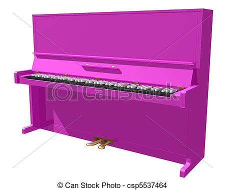 Piano clipart pink Csp5537464  background piano Pink