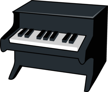 Piano clipart printable Black 6075 Clipart ClipartWar Favorite
