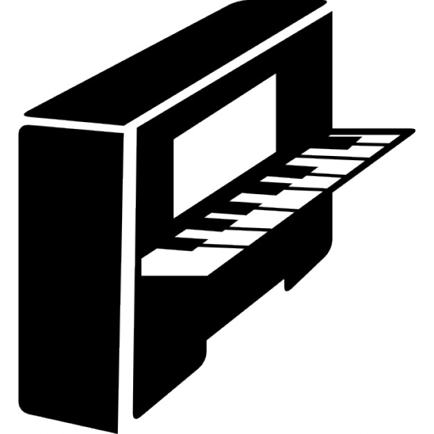 Piano clipart side view Side Piano Download Free view