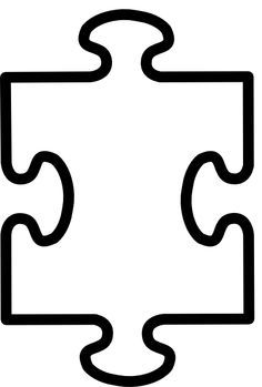 Alone clipart puzzle Pieces Puzzle Puzzle Template ClipArt