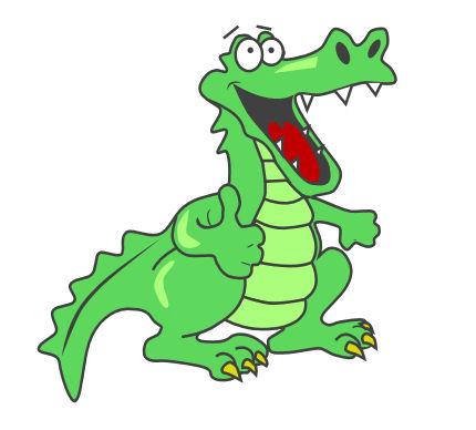 Alligator clipart mouth open Art Alligator Clip alligator Clipart