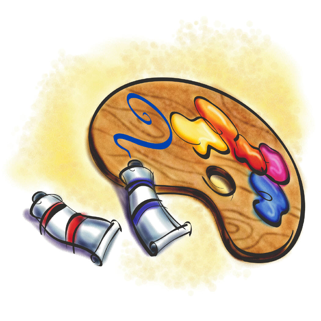Paint clipart art subject Clip Clipart  Free Free