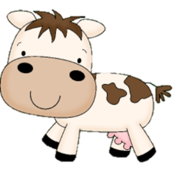 Mommy clipart baby cow #1