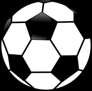 Pice clipart ball Ball Soccer Clipart Black Football