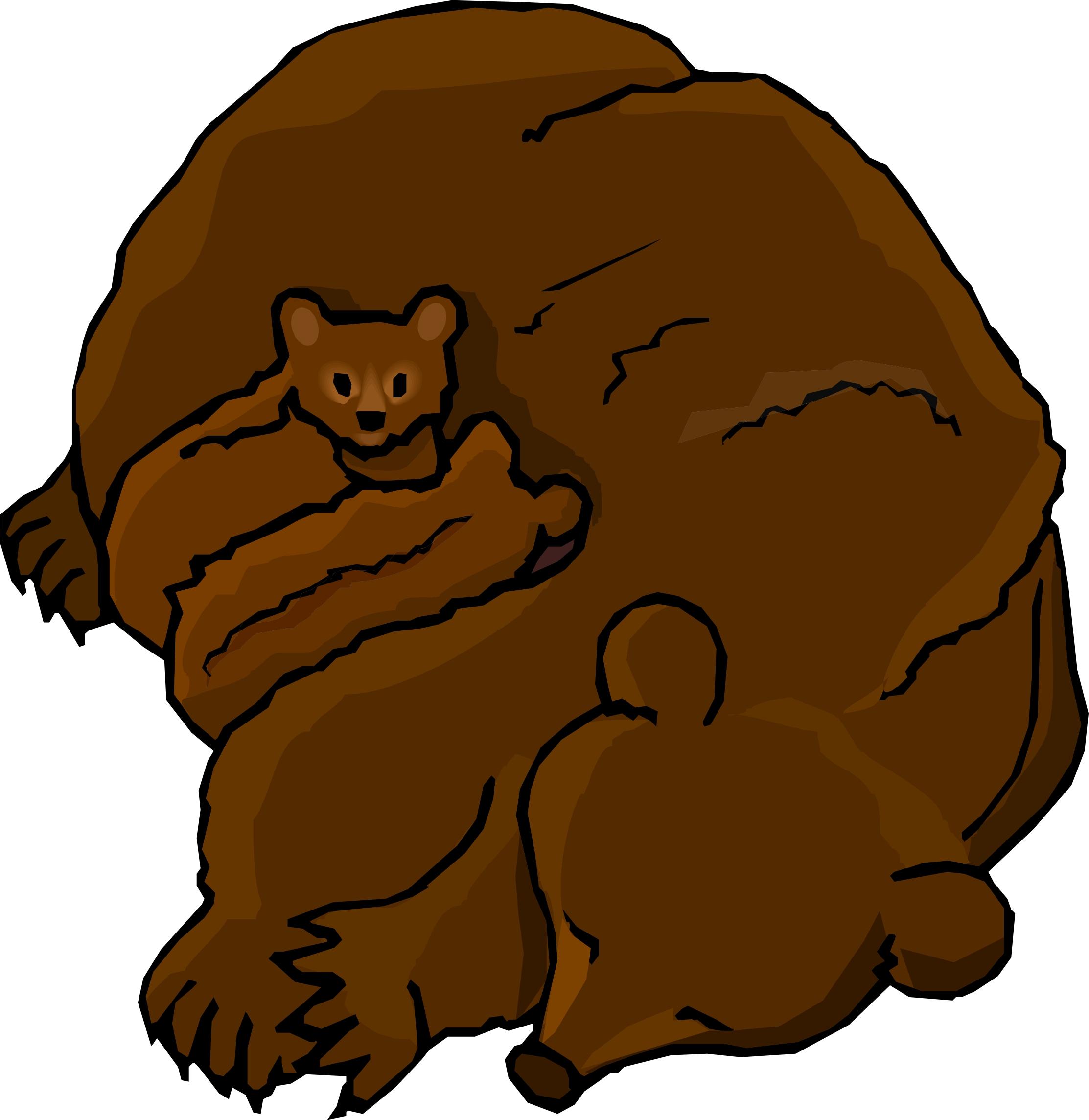 Bear clipart bear cub Art library  on Cartoon