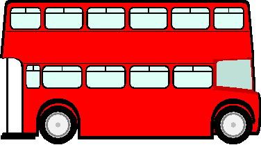 Bus clipart red bus Buses Bus Clipart Clipart Red