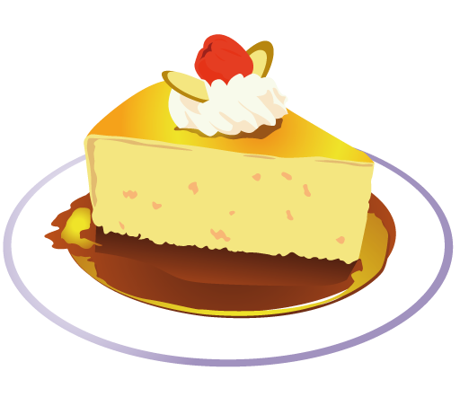 Pice clipart cake Art Piece Use Cake to