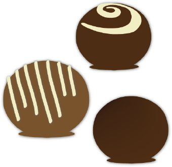 Candy Bar clipart chocolate truffle Clipart Free Clipartix 2 image