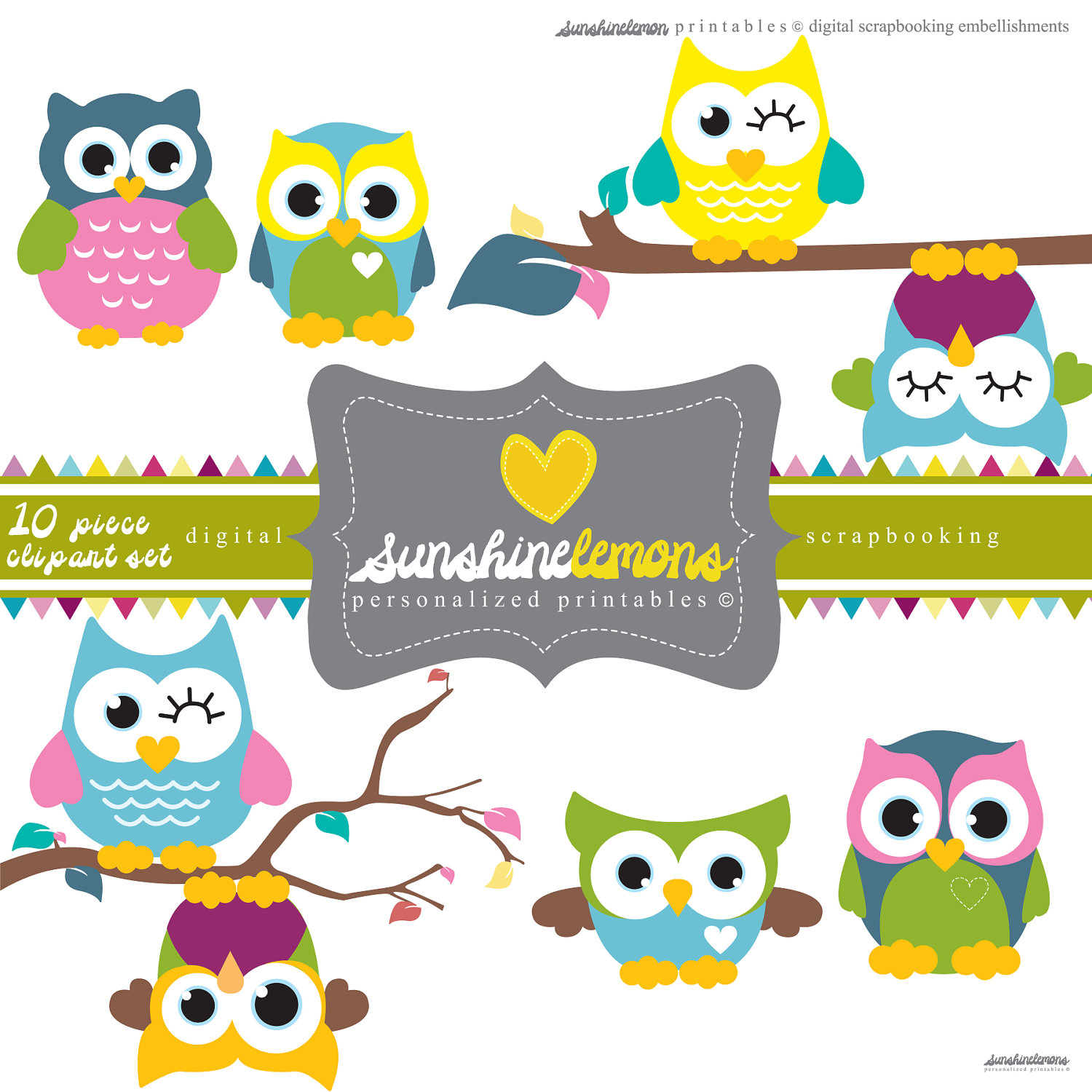Pice clipart cute Free Owl Clipart Clipart Free