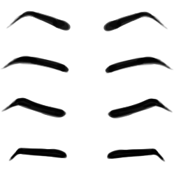 Pice clipart eyebrow #12