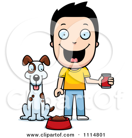 Pice clipart feed dog Clipart feed ClipartFest Clipart dog