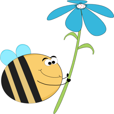 Covered clipart funny Bee Blue Bee a Images