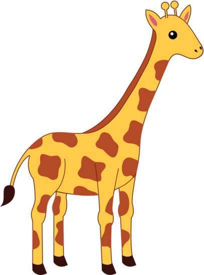 Pice clipart giraffe #13