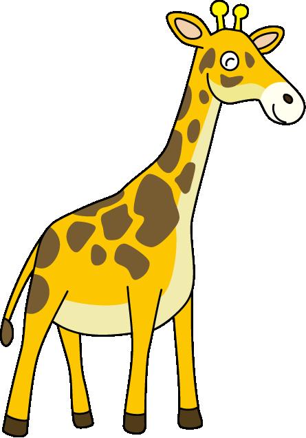 Pice clipart giraffe #15