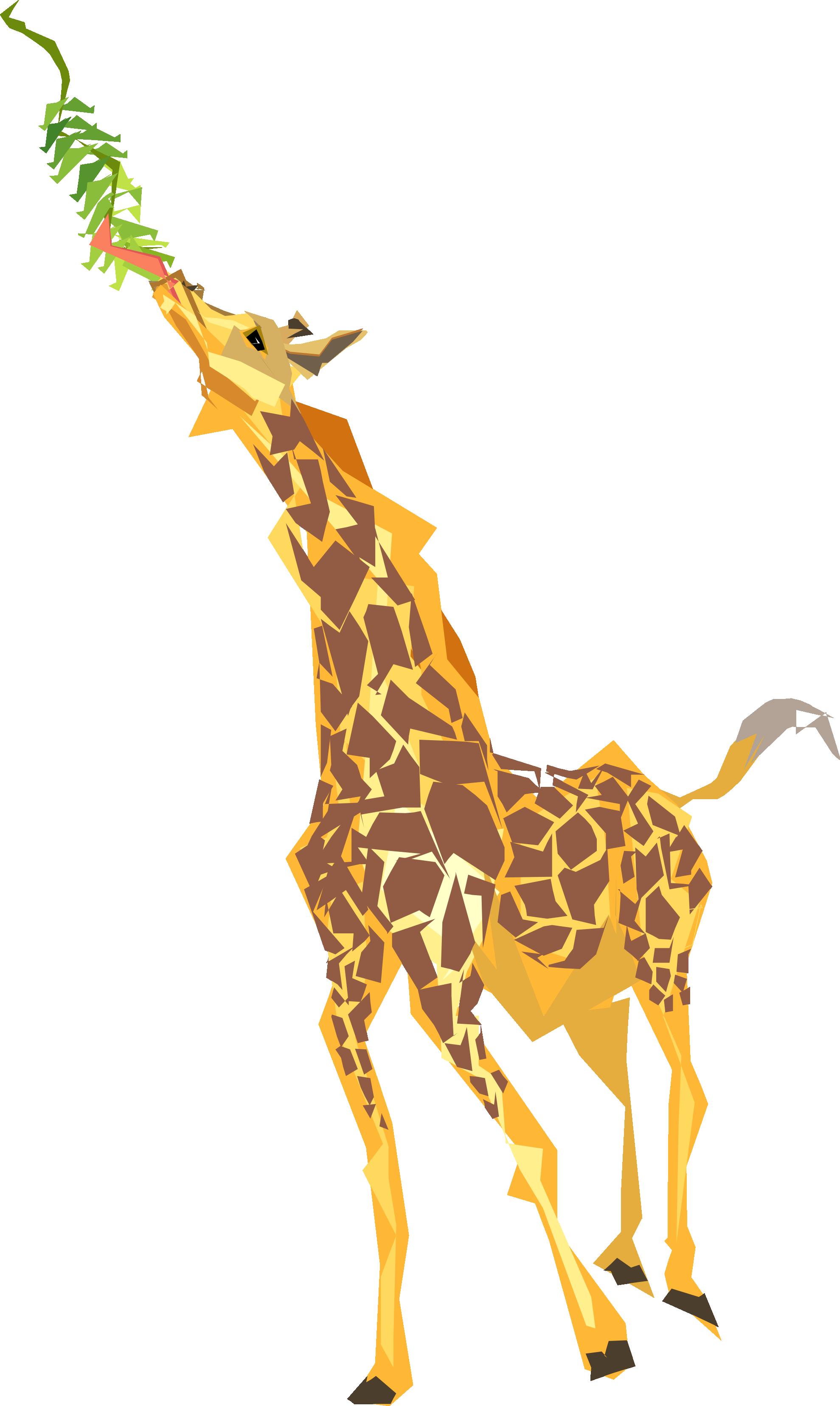 Simple clipart giraffe #13