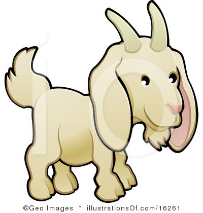Mountain Goat clipart kid goat #5