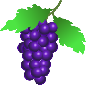 Grape clipart grape tree Art Grapes at com vector