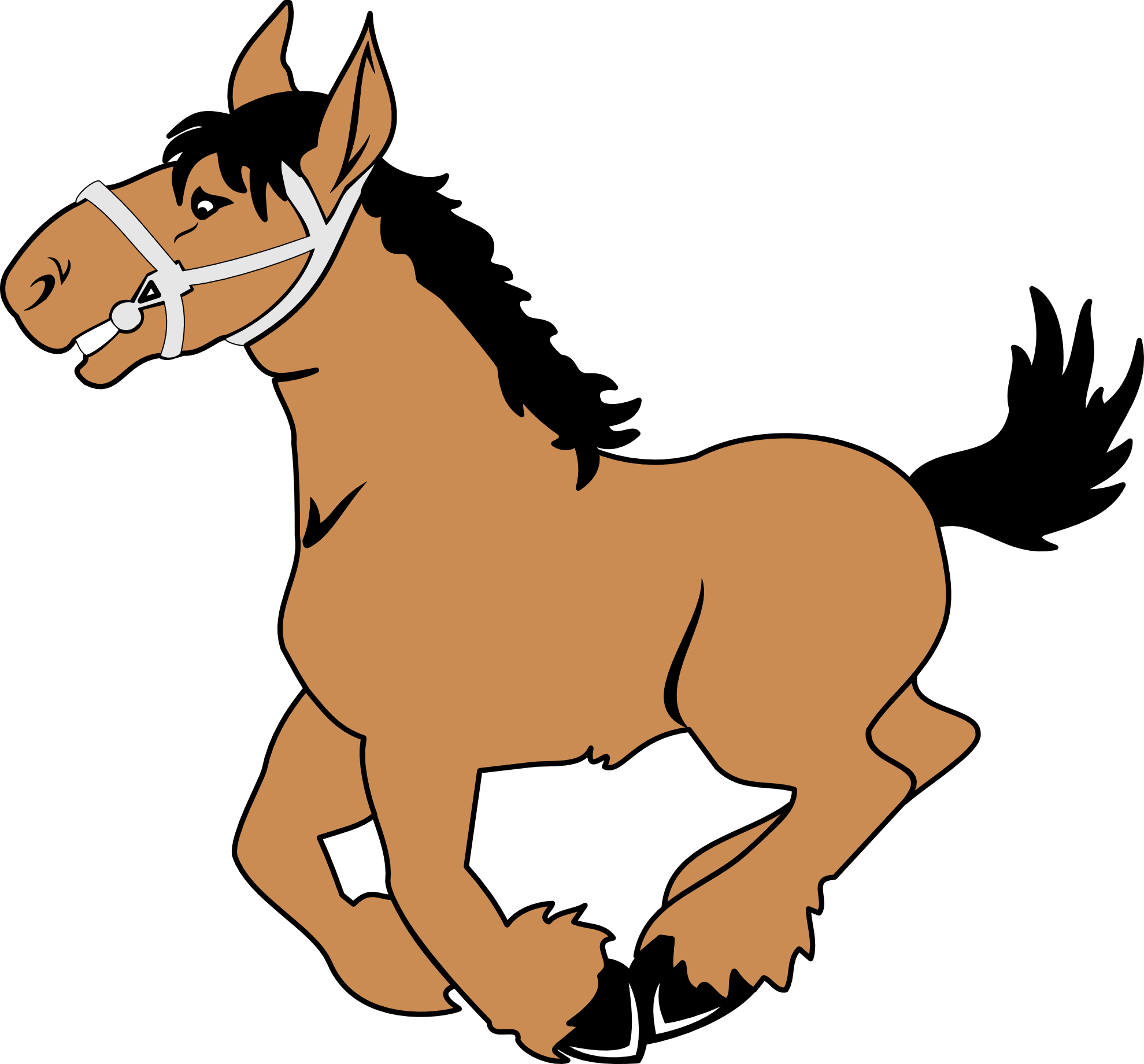 Anime clipart horse rider Images Horse Quarter art clipart