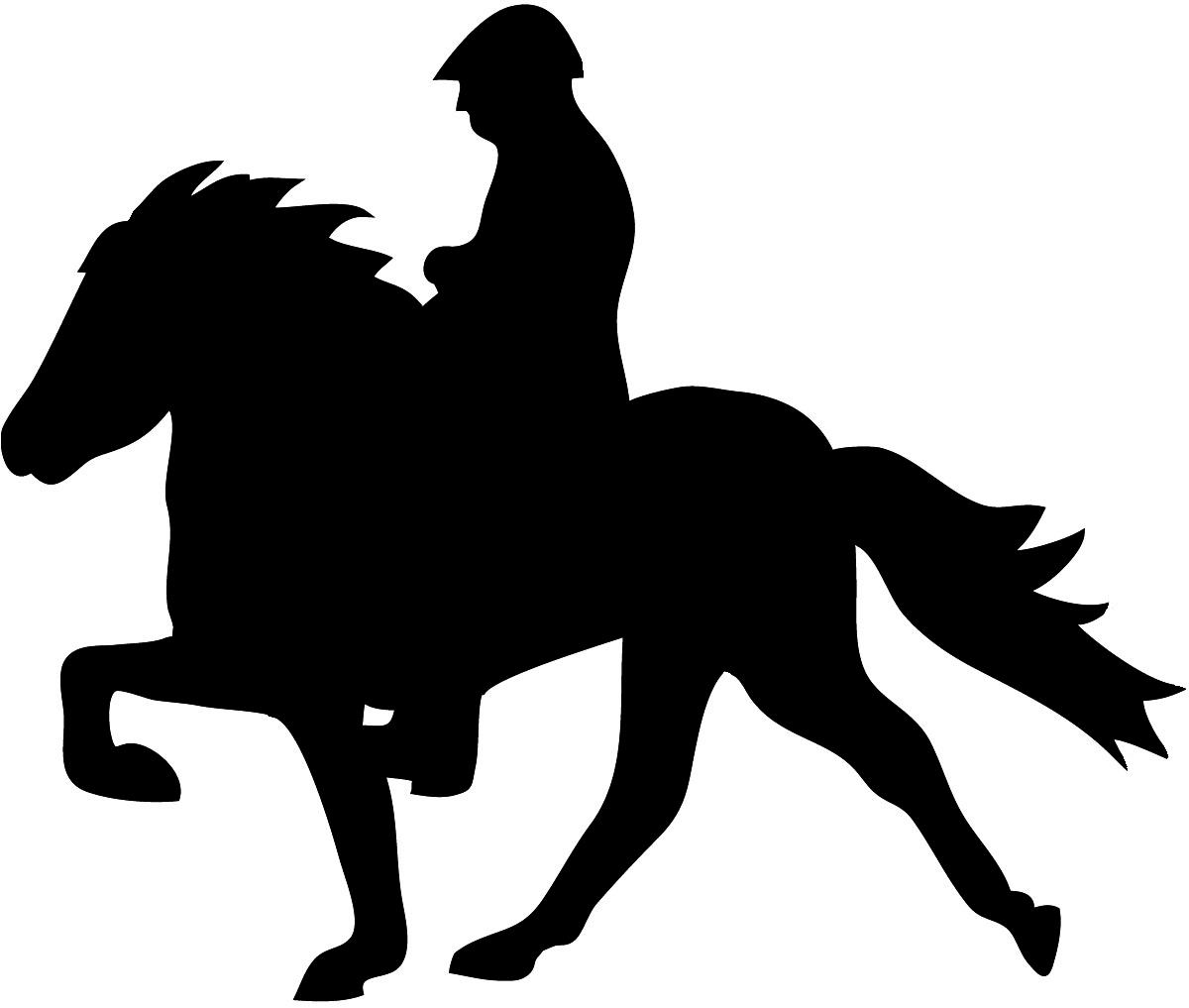 Horse Racing clipart animal tail Graphics Silhouette Silhouette graphics Silhouette