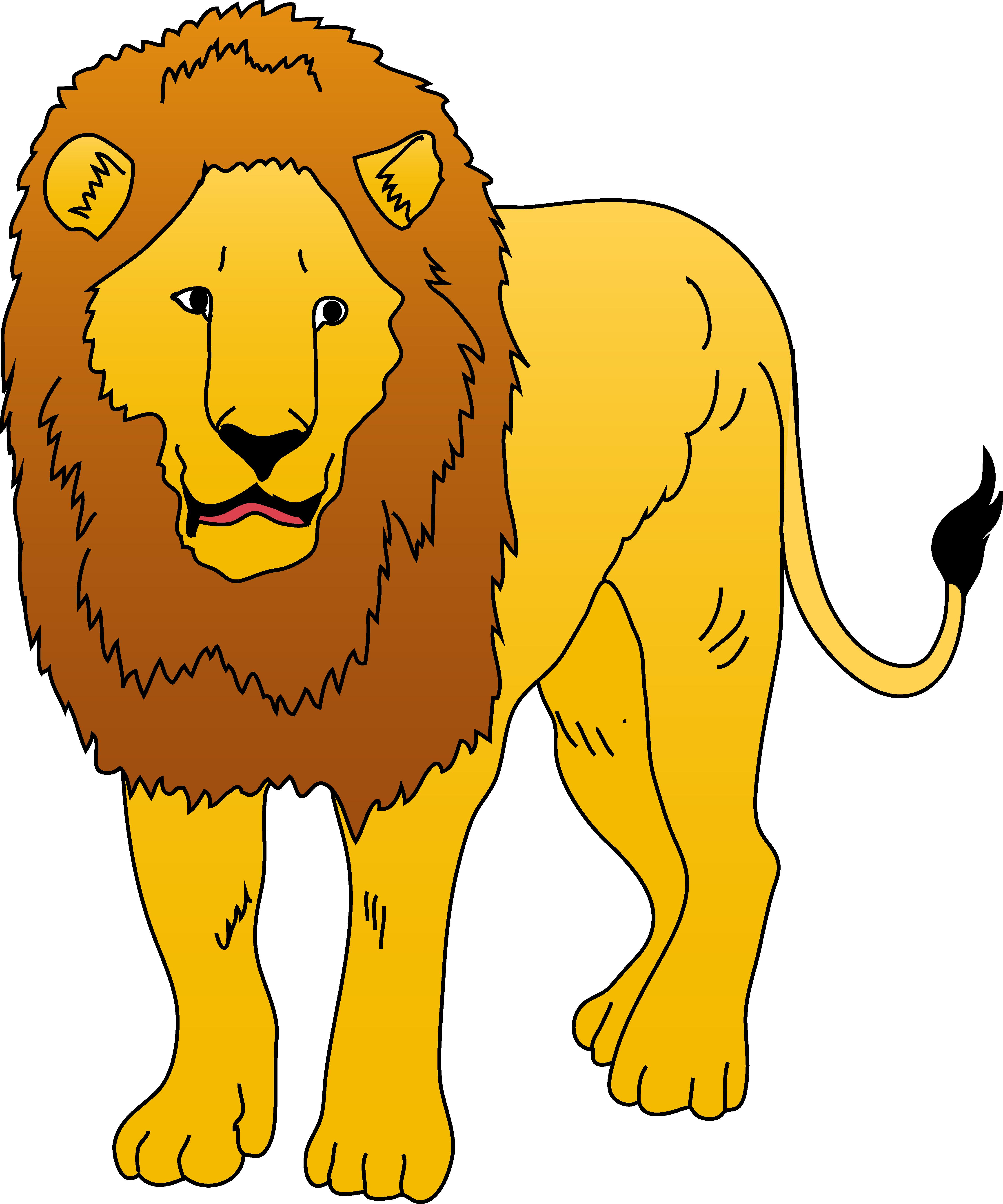Animl clipart lion Lion 8 vector Baby Clipartix