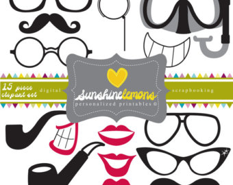 Pice clipart mouth Lips Party set Etsy clipart