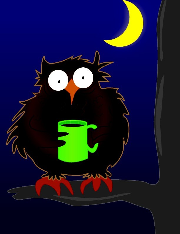 Night clipart night owl Owl  Night Night Owl