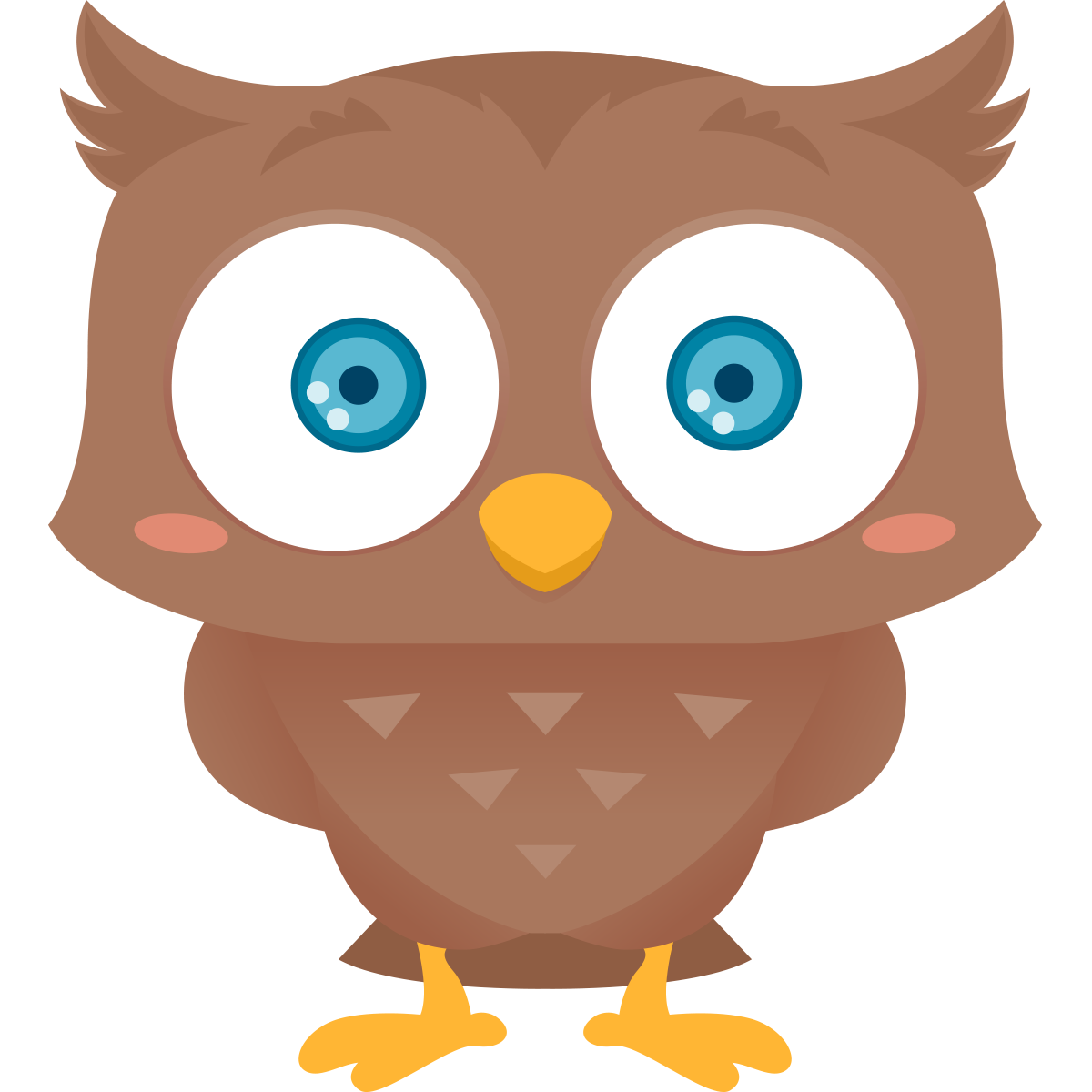 Owl clipart cute Art owl public Snowy to