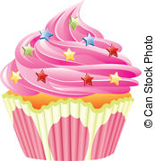 Pice clipart pink cupcake #14