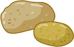 Pice clipart potato #13