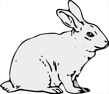 Drawn rabbit cliparts Free Free Graphics Images Clipart