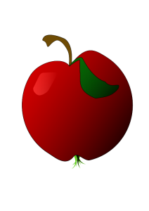 Pice clipart red fruit #13