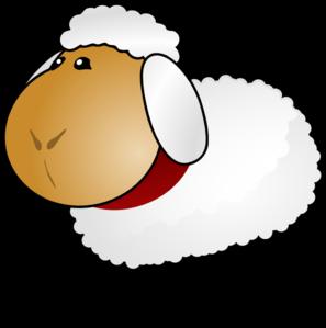 Sheep clipart transparent background #2