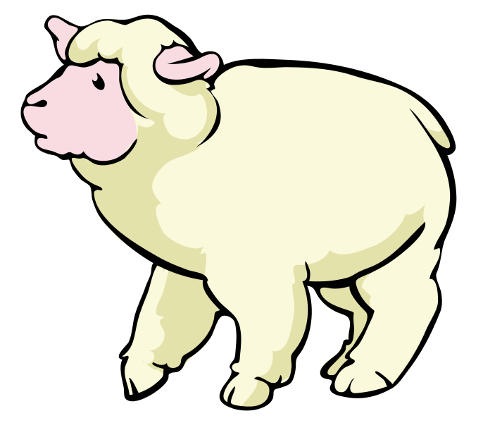 Sheep clipart small #1