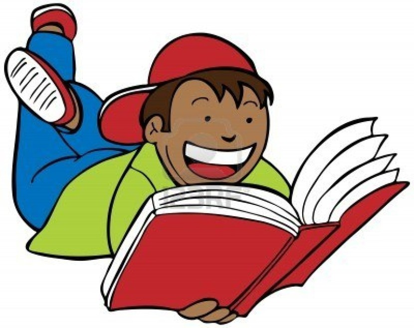 Book clipart children's book Clip Students reading together art
