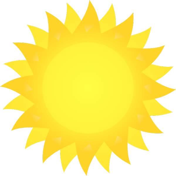 Pice clipart sun Clipart Epic Bright Sun Ballet