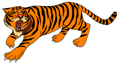 Animl clipart tiger Free clipart to PDClipart clip