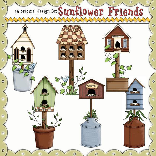 Country clipart garden shed Piece birdhouses about clipart best