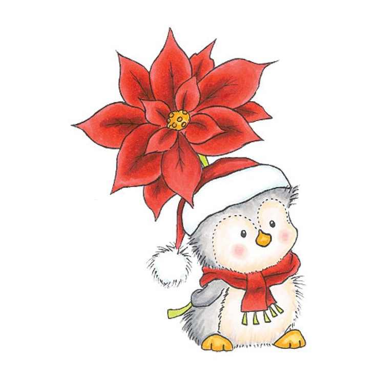 Poinsettia clipart cute On best Christmas Printables images