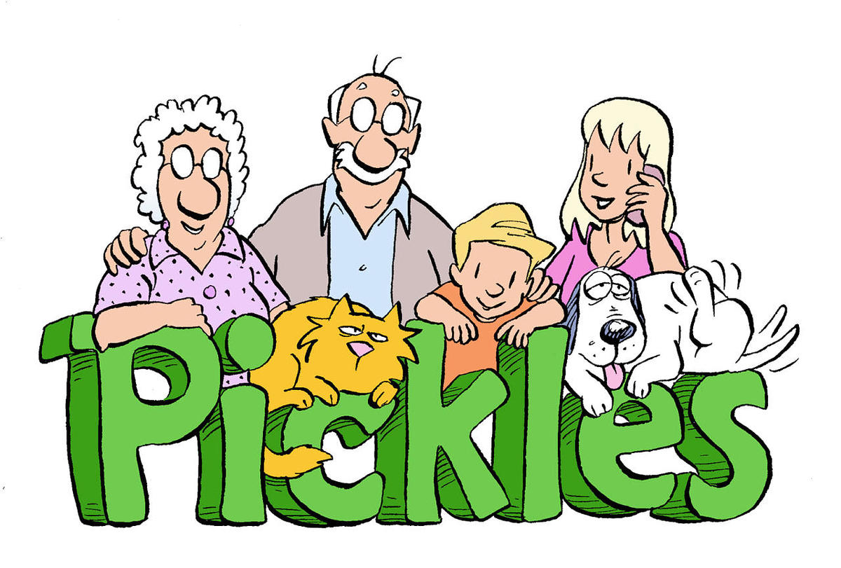 Pickle clipart human Of captures captures 'Pickles' cartoon
