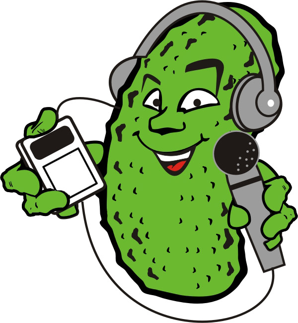 Pickle clipart animated Podcast Places Pickle  Podcast